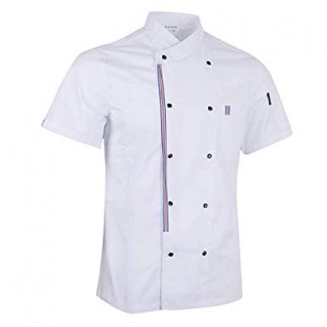 Áo đồng phục bếp 05
