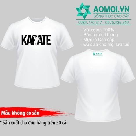 Áo phông karate -2