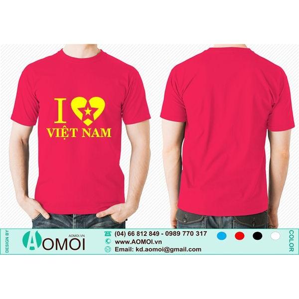 Áo cờ đỏ sao vàng Tôi Yêu Việt Nam