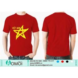 Áo cờ đỏ sao vàng Việt Nam