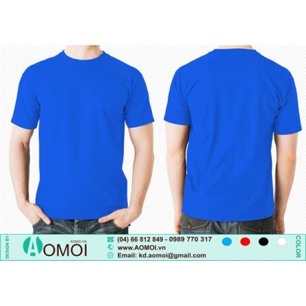 Áo phông cổ tròn xanh YA