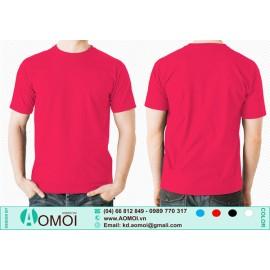 Áo phông cổ tròn đỏ