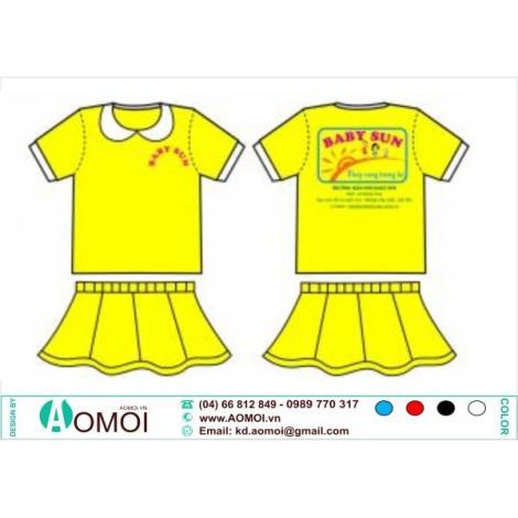 Đồng phục mầm non Baby Sun Nữ