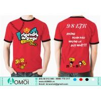 Áo đỏ viền tay đen 98 LTK