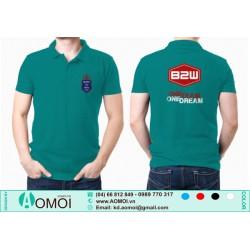 Áo lacoste xanh rêu B2W