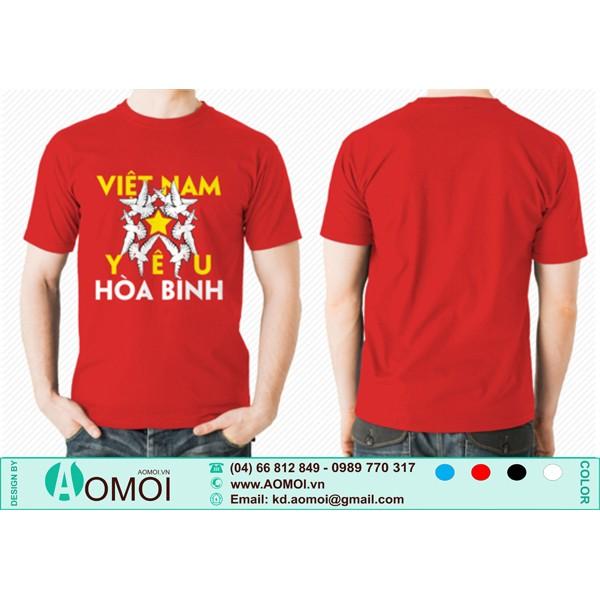 Áo Việt Nam Yêu Hòa Bình