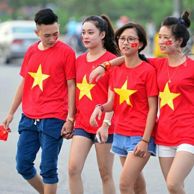 Địa chỉ sản xuất áo cờ đỏ sao vàng hà nội