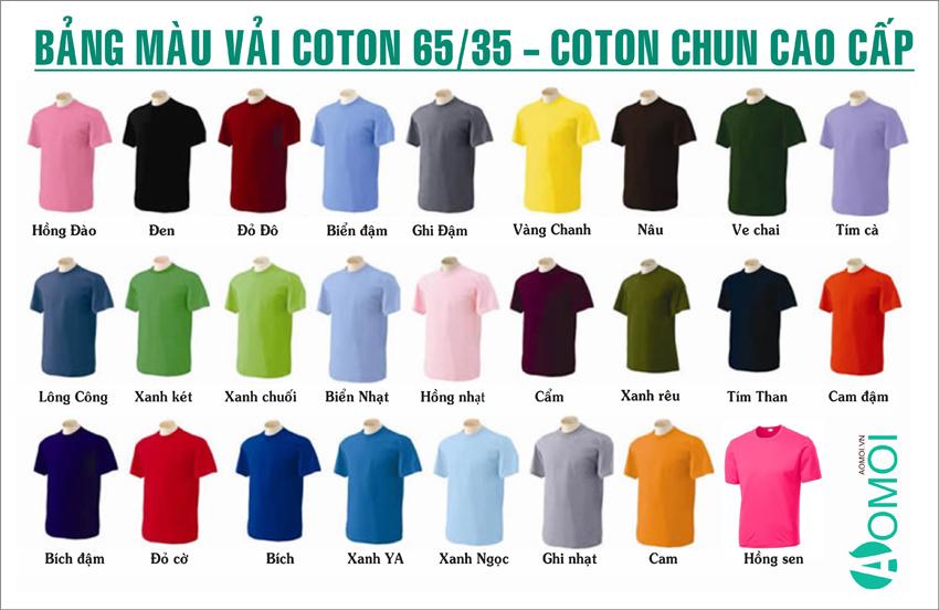 Khách hàng nhận được gì khi in áo phông đồng phục tại Hà Nội